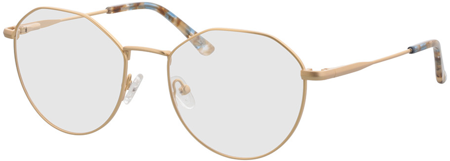 Picture of glasses model Mabel-gold in angle 330