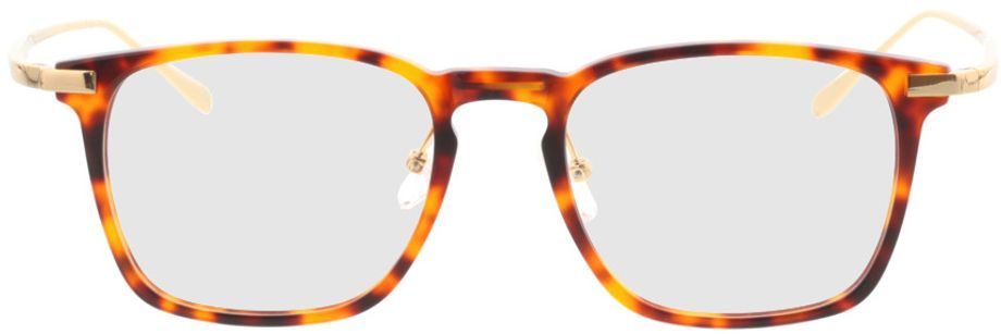 Picture of glasses model Rosebud-braunmeliert/gold in angle 0