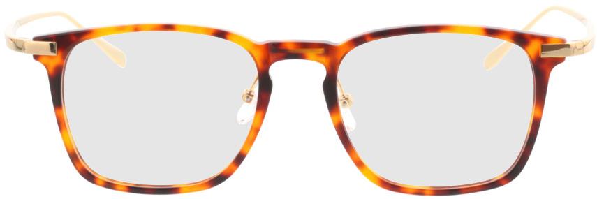 Picture of glasses model Rosebud bruin/gevlekt/Goud in angle 0