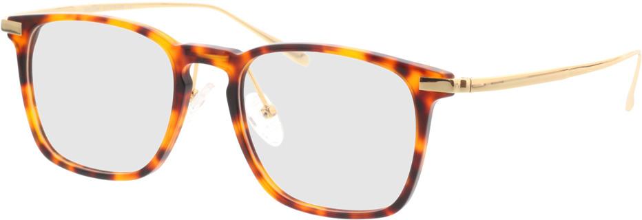 Picture of glasses model Rosebud bruin/gevlekt/Goud in angle 330