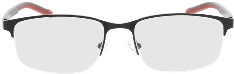 Picture of glasses model Milet-matt schwarz in angle 0