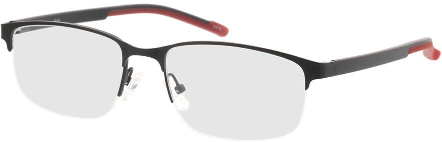 Picture of glasses model Milet-matt schwarz in angle 330