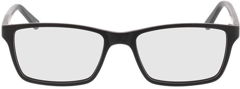 Picture of glasses model Arthur-matt schwarz in angle 0