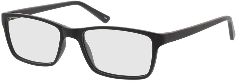Picture of glasses model Arthur-matt schwarz in angle 330
