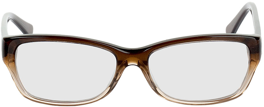 Picture of glasses model Piura-braun/hellbraun transparent in angle 0