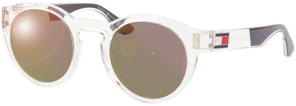 Picture of glasses model Tommy Hilfiger TH 1555/S 141 49-23 in angle 330