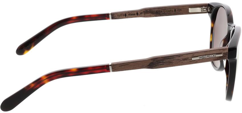 Picture of glasses model Wood Fellas Sunglasses Pottenstein walnut/havana 49-21 in angle 90