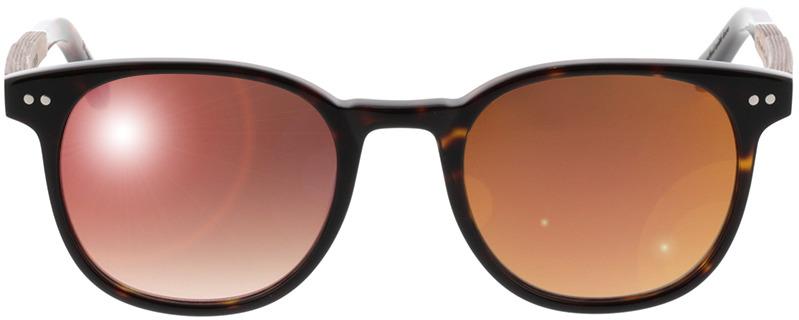 Picture of glasses model Wood Fellas Sunglasses Pottenstein walnut/havana 49-21 in angle 0
