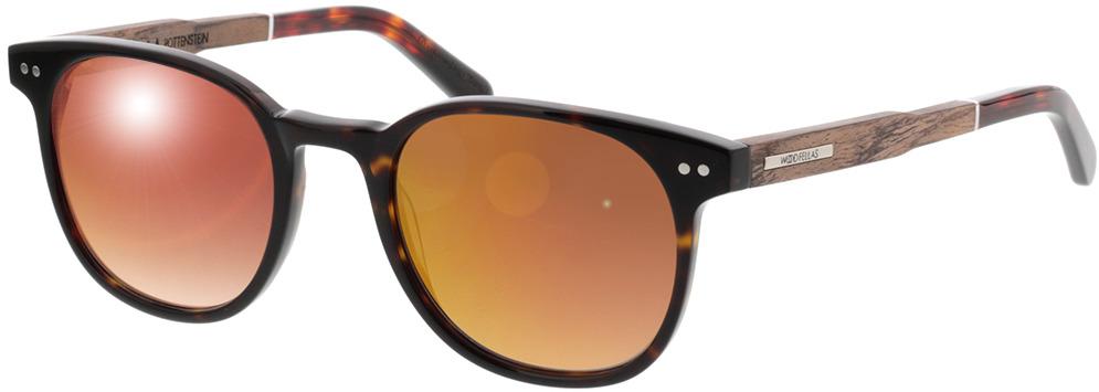 Picture of glasses model Wood Fellas Sunglasses Pottenstein walnut/havana 49-21 in angle 330