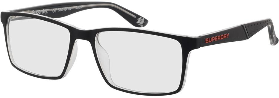 Picture of glasses model Superdry SDO Bendosport 127 matte black/crystal 56-17 in angle 330