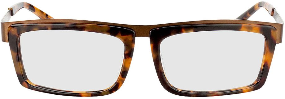 Picture of glasses model Movie-braun-meliert-bronze in angle 0