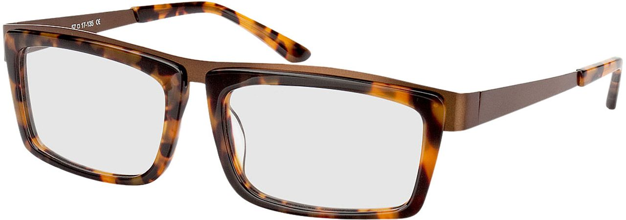 Picture of glasses model Movie-braun-meliert-bronze in angle 330