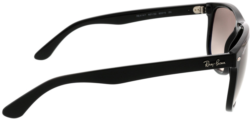 Picture of glasses model Ray-Ban RB4147 601/32 60-15 in angle 90
