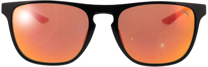 Picture of glasses model Puma PU0131S 003 54-19 in angle 0