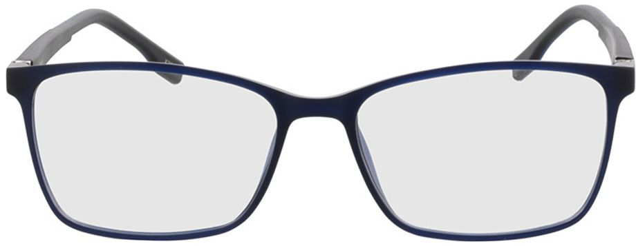 Picture of glasses model Pecos-blau-transparent in angle 0