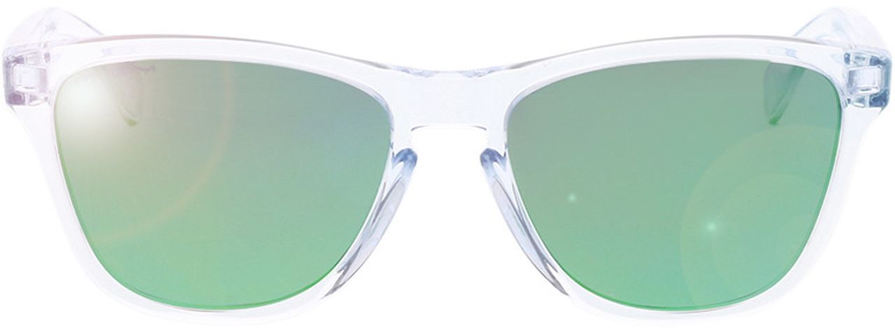 Picture of glasses model Oakley Frogskins XS OJ9006 900618 53-16 in angle 0