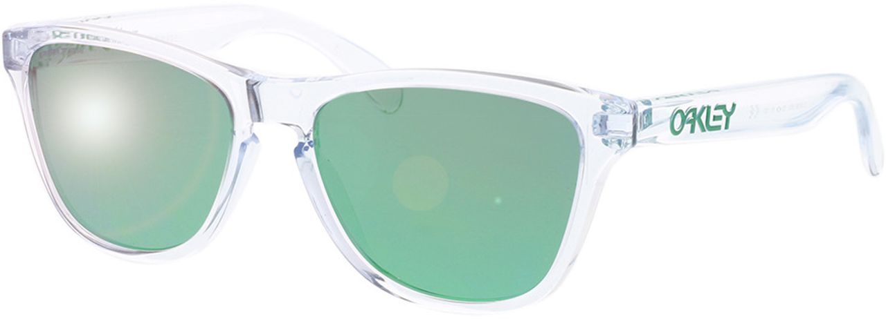 Picture of glasses model Oakley Frogskins XS OJ9006 900618 53-16 in angle 330