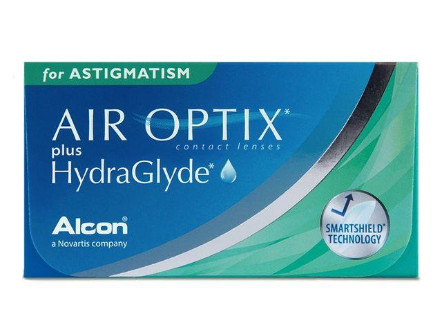 AIR OPTIX® plus HydraGlyde for ASTIGMATISM 3er Box