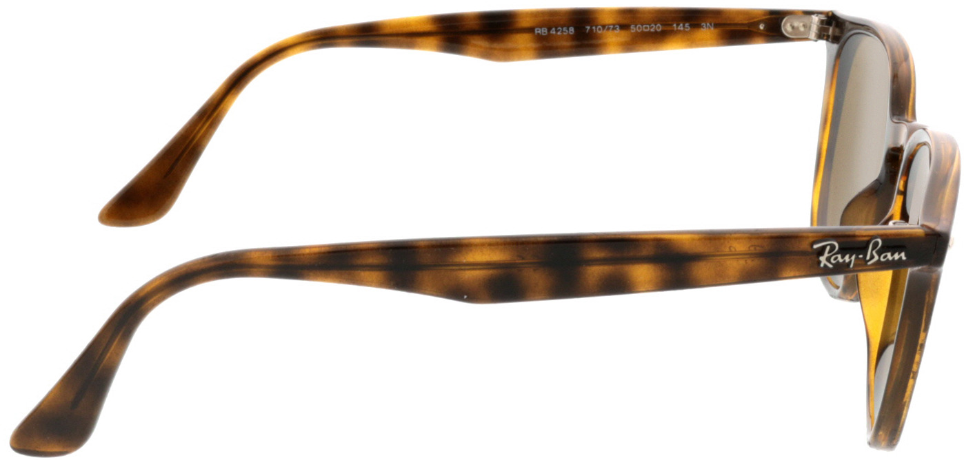 Picture of glasses model Ray-Ban RB4258 710/73 50-20 in angle 90