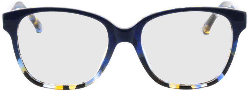 Picture of glasses model Marta-blau-meliert in angle 0