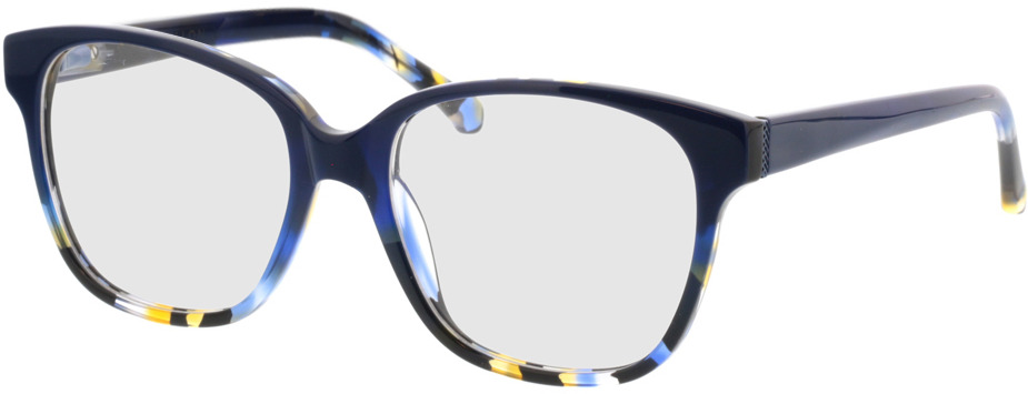 Picture of glasses model Marta-blau-meliert in angle 330