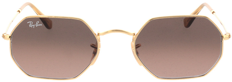 Picture of glasses model Ray-Ban RB3556N 912443 53-21 in angle 0