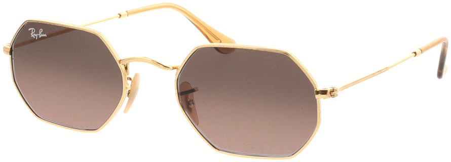 Picture of glasses model Ray-Ban RB3556N 912443 53-21 in angle 330