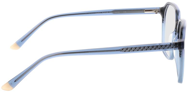 Picture of glasses model Fermo-blau-verlauf/blau in angle 90