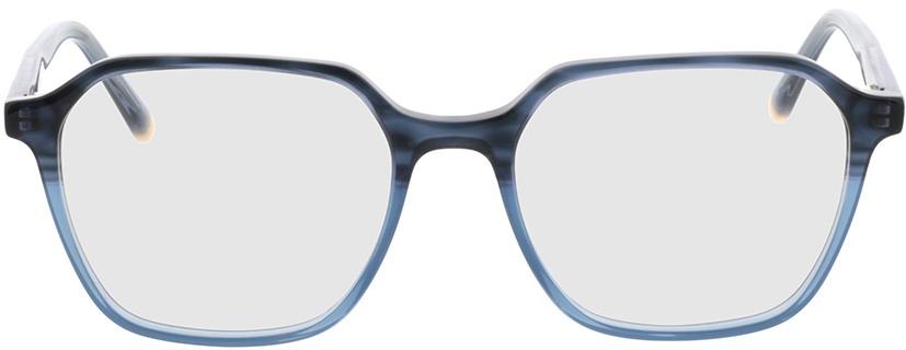 Picture of glasses model Fermo-blau-verlauf/blau in angle 0