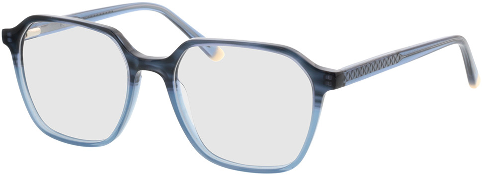 Picture of glasses model Fermo-blau-verlauf/blau in angle 330