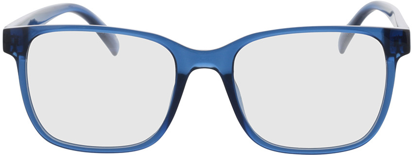 Picture of glasses model Lime-blau in angle 0
