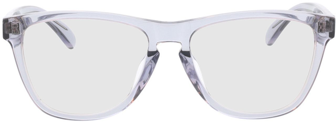 Picture of glasses model Warwick-grau-transparent in angle 0