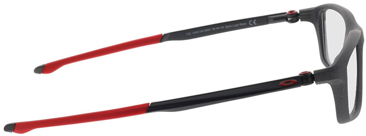 Picture of glasses model Oakley Chamber OX8138 06 53-16 in angle 90