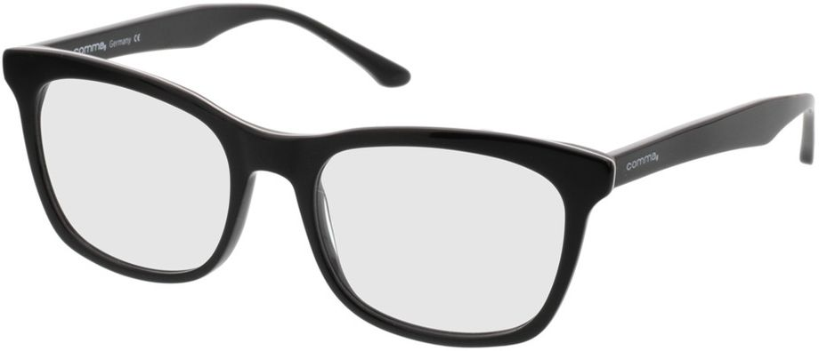 Picture of glasses model Comma70025 30 schwarz 53-18 in angle 330