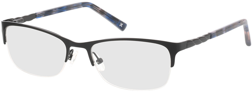 Picture of glasses model Evelyn-schwarz in angle 330
