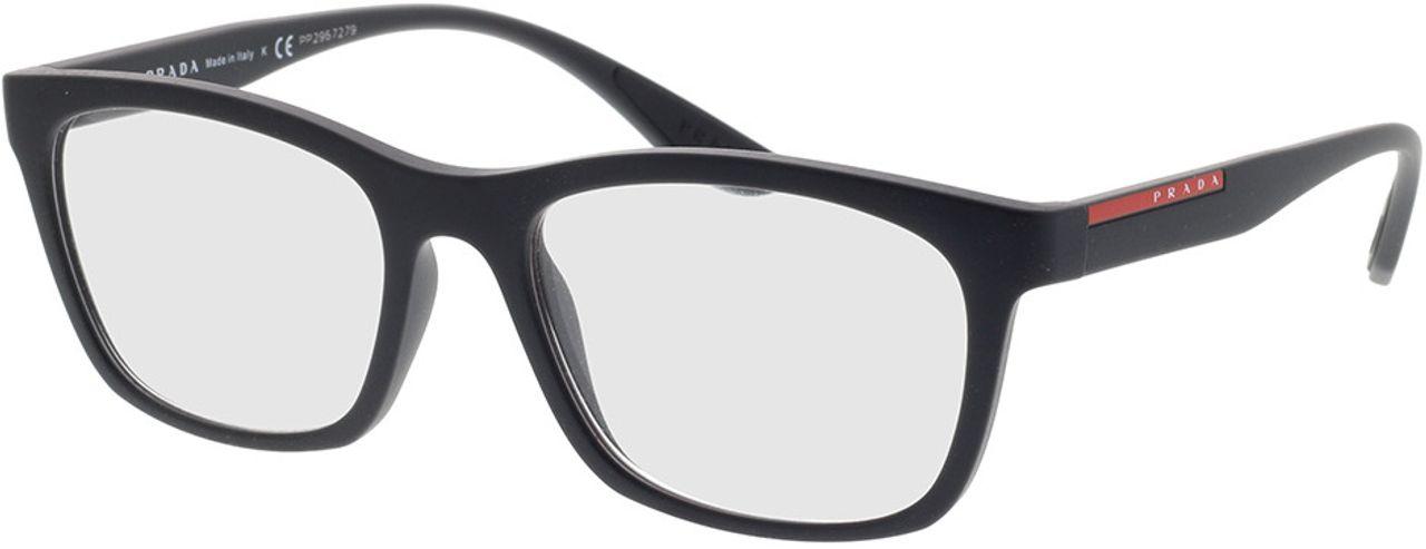 Picture of glasses model Prada Linea Rossa PS 02NV DG01O1 53-18 in angle 330