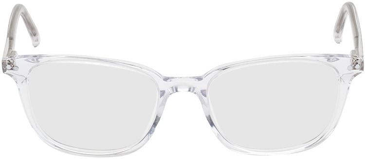 Picture of glasses model Den Haag transparent in angle 0