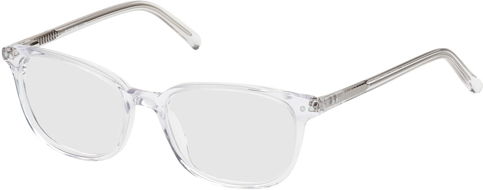 Picture of glasses model Den Haag transparent in angle 330