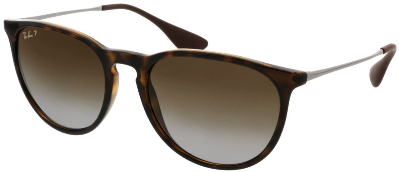 Picture of glasses model Ray-Ban Erika RB4171 710/T5 54-18 in angle 330