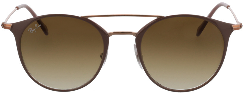 Picture of glasses model Ray-Ban RB3546 907151 49-20 in angle 0