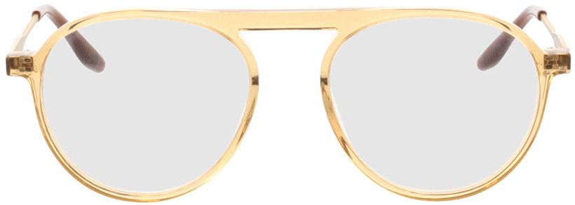 Picture of glasses model Cooper-beige gelb transparent in angle 0