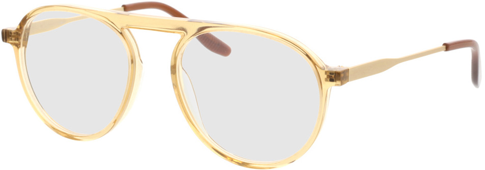Picture of glasses model Cooper-beige gelb transparent in angle 330