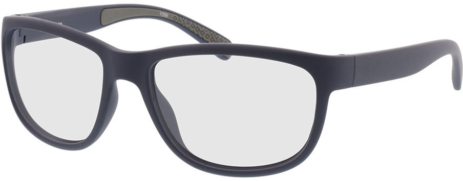 Picture of glasses model Pulse mat donkerblauw/grijs in angle 330