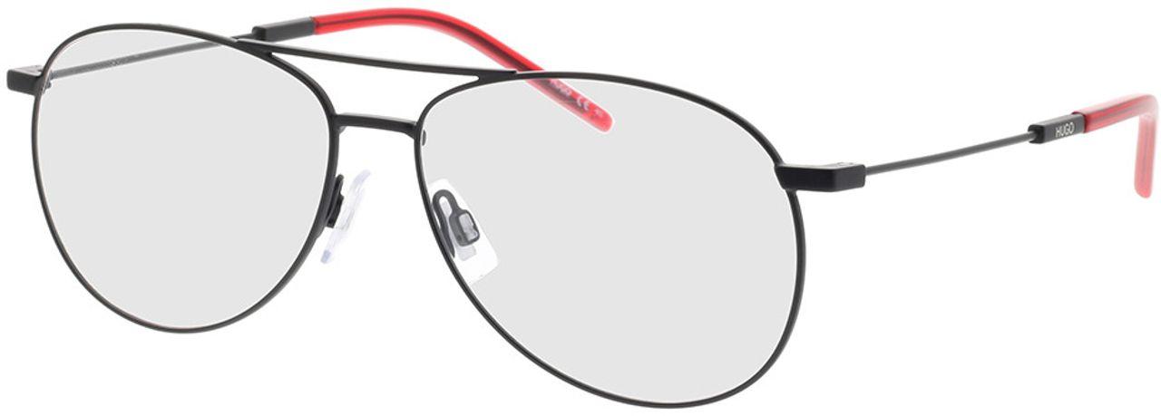 Picture of glasses model Hugo HG 1061 003 59-14 in angle 330