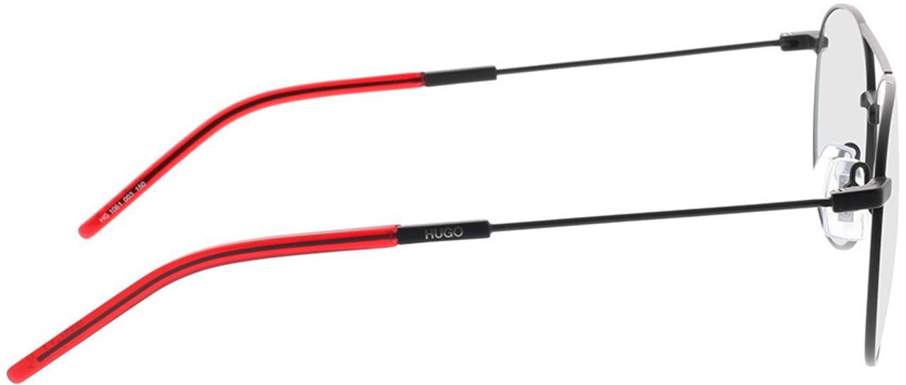 Picture of glasses model Hugo HG 1061 003 59-14 in angle 90
