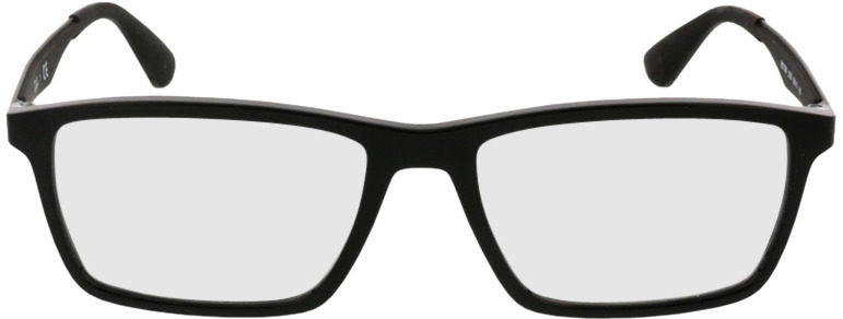 Picture of glasses model Ray-Ban RX7056 2000 53-17 in angle 0