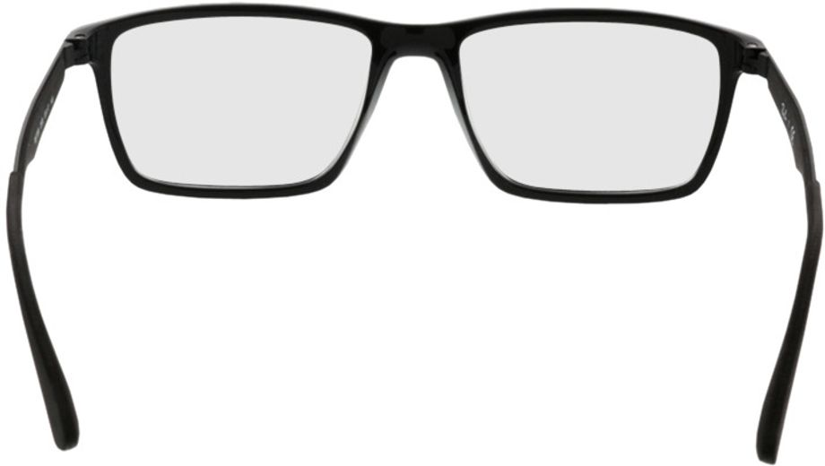Picture of glasses model Ray-Ban RX7056 2000 53-17 in angle 180