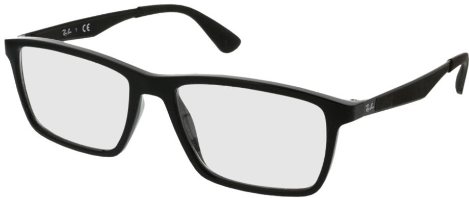 Picture of glasses model Ray-Ban RX7056 2000 53-17 in angle 330
