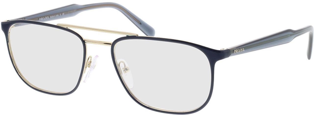 Picture of glasses model Prada PR 54XV VH81O1 54-18 in angle 330