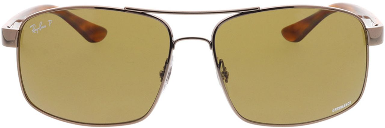 Picture of glasses model Ray-Ban RB3604CH 121/BB 62-15 in angle 0
